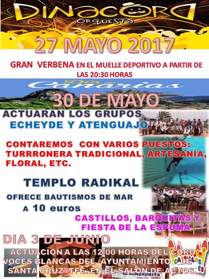 Fiestas de mayo 2017 club n utico puertito de g mar for Eventos madrid mayo 2017