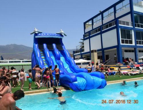 Gran fiesta acuática