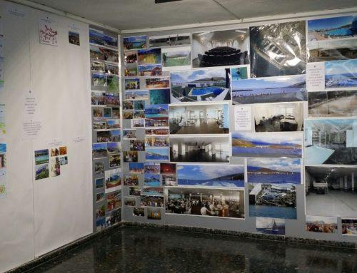 Inauguración de la exposición de fotos y dibujos