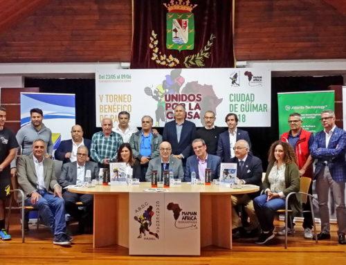 """Crónica presentación V Torneo benéfico de pádel, """"Ciudad de Güímar"""" Chanvergas"""