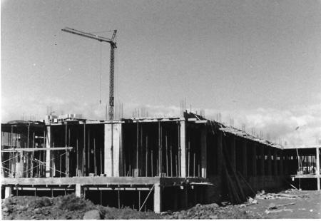 1973. Estado de las obras