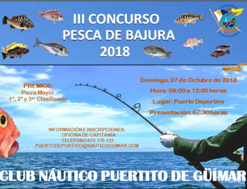 III Concurso de Pesca de Bajura 2018