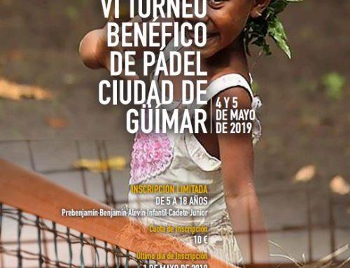 Encuentro previo de menores – VI Torneo benéfico de pádel Ciudad de Güímar