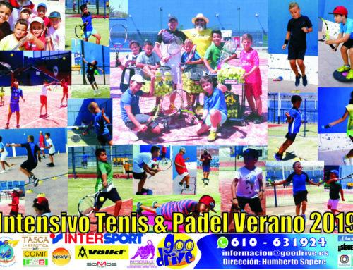 Finalizó con éxito el Campus intensivo de Tenis y Pádel