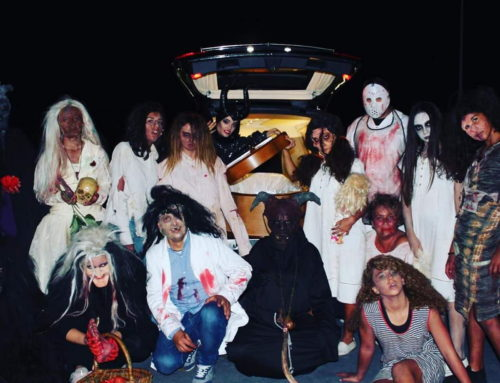 Celebración de la Fiesta Halloween adulta e infantil