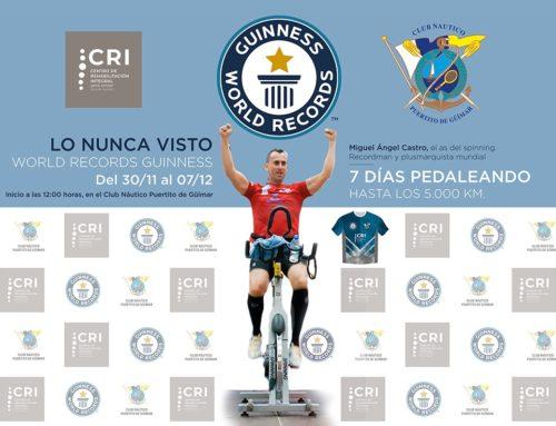 Guinness World Record de Bicicleta Estática